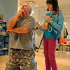 "Tommy Hinkley acts out some hints for Lizzy Zimmerman when the class was playing charades as a training tool.<br /> Tommy Hinkley and his wife, Tracey, own a business in Superior called Reel Kids. The pair teach kids and teens film and television acting.<br /> For a video about Reel Kids, go to  <a href=""http://www.dailycamera.com"">http://www.dailycamera.com</a>.<br />  Cliff Grassmick / September 17, 2011"