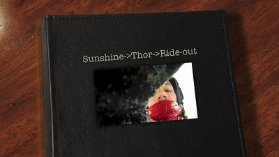 Ethan & Wyatt, Sunshine to Thor to G.Western to the car. The GoPro was loose on the wand and required repeated repairs.. But it's cool footage, especially Thor and the rock field along the side of the run leading to the G.Western lift.