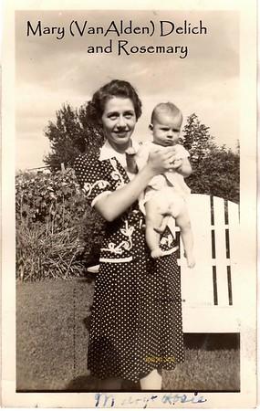 Mary & Rosemary 1940's