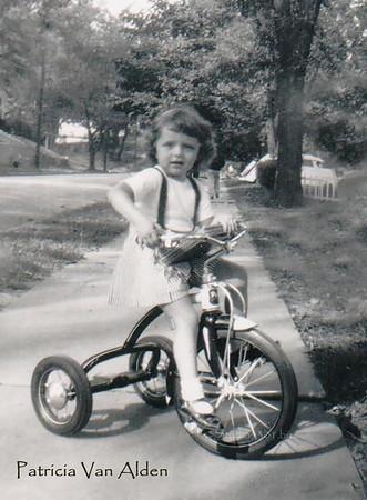 Patricia on bike past name