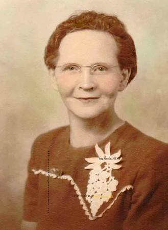 Grandma Van Alden (mother of Fred, Mary, Margie & Ted)