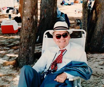 Father_Kailua beach chair 1990 PatriciaLam