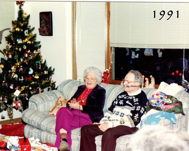 Phyllis and Fred XMAS 1991