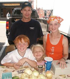 John, Jessica & kids 07/2006