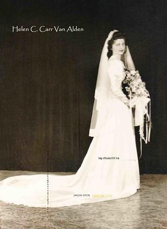 Helen Wedding dress 1946name