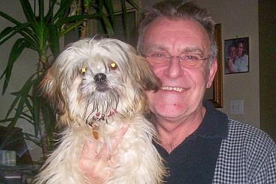 Bob and Wonderdog Lucy 0108