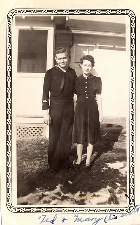Ted and Mary 1940s
