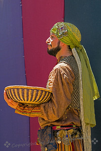 This young man was part of the belly-dancing troupe at the 2014 Renaissance Pleasure Faire in Irwindale, California.