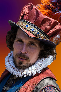 This dashing young man was photographed at the 2014 Renaissance Pleasure Faire in Irwindale, California.