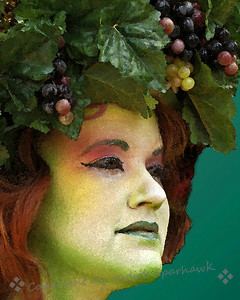 Glorious Green ~ An alternate version of the Green Lady from the Renaissance Faire.