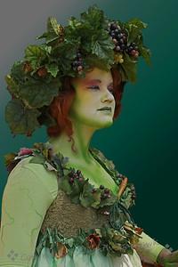 The Green Lady ~ Renaissance Faire member