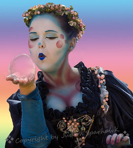 Blowing Bubbles ~ 2014 Renaissance Pleasure Faire, Irwindale, California