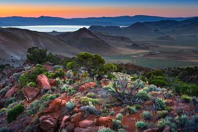Virginia Range Dawn Sunrise