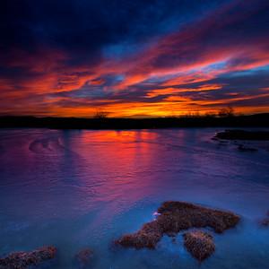 12X12 Harmon Sunrise