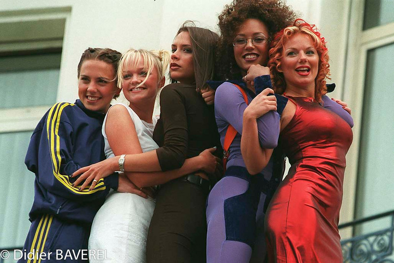 11 May 1997, Cannes, France --- The Spice Girls --- Image by © BAVEREL/LEFRANC/CORBIS KIPA