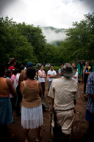 """Peace Brigades International continues to support the lawyers because there is still a very high risk to members of the FCSPP and the community. """"Just to travel in a region like central Cesar—where threatening flyers are constantly being distributed by paramilitary groups—requires accompaniment and visibility to enable us to perform our work,"""" says Leonardo Jaimes Marín."""
