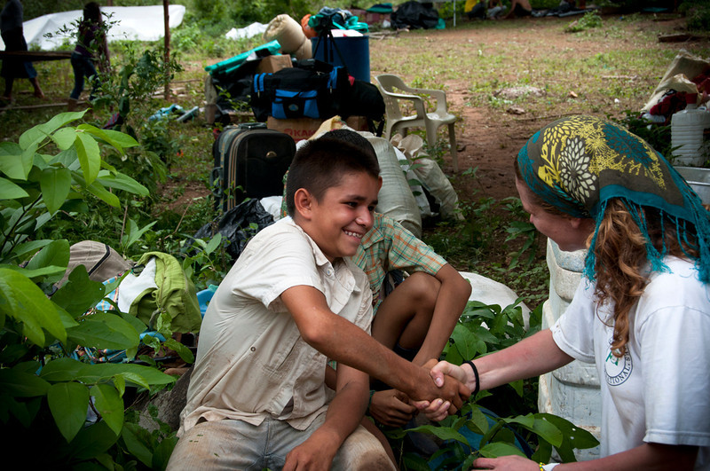 PBI also works with the community from a psycho-social perspective, including with the children. Through various workshops, they have learned how to manage their fears, despair and concerns, have studied different scenarios for their return to the land, and how to react to the different phases of risk. Now the community feels better prepared to return and each person knows what role to play in the case of an attack.