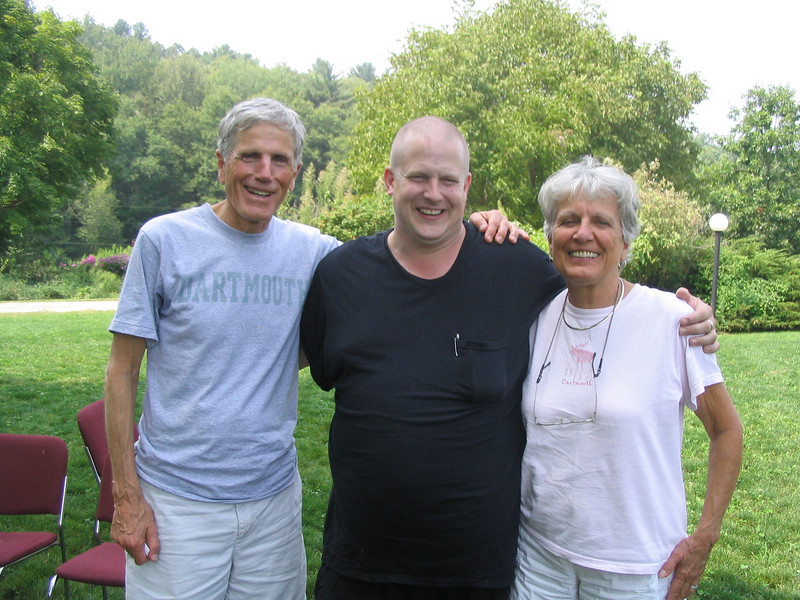 Bruce, Mike and Betsy
