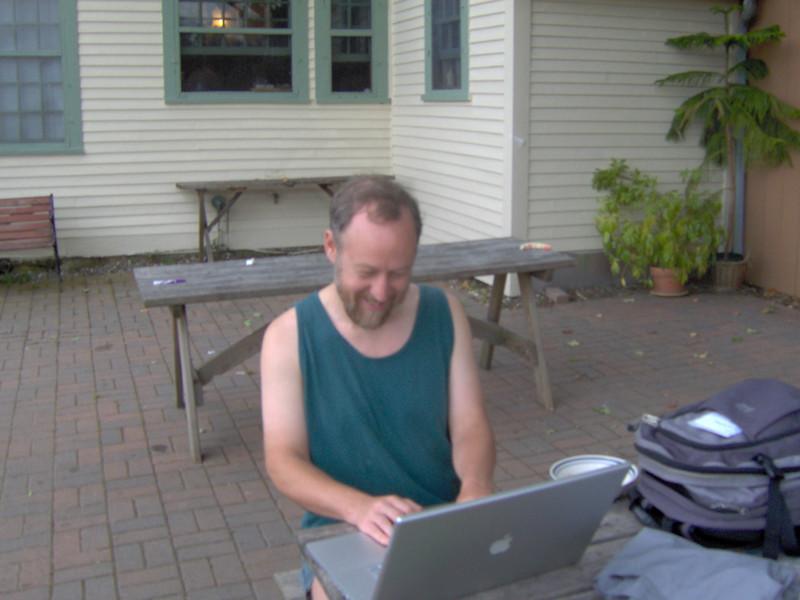 Wil (enjoying his time computing :))
