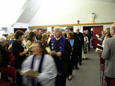 Rev Paul Ratzlaff Installation and Retirement