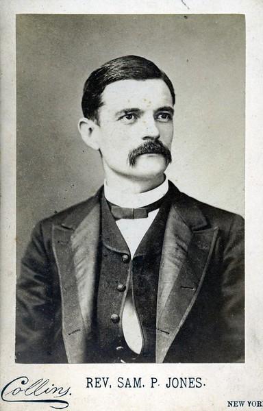 Rev. Sam P. Jones (07081)