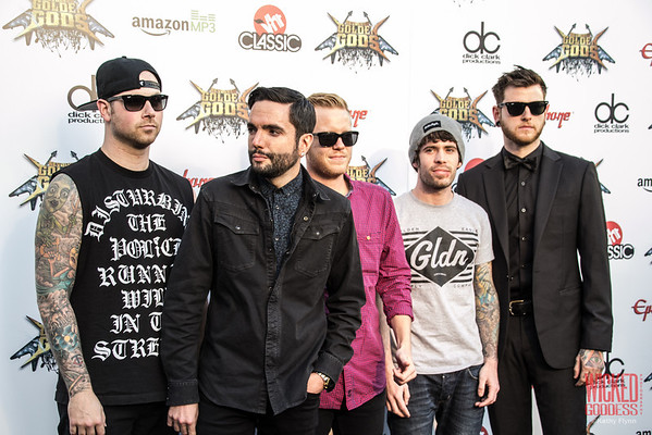 A Day to Remember at the Revolver Golden Gods 2014