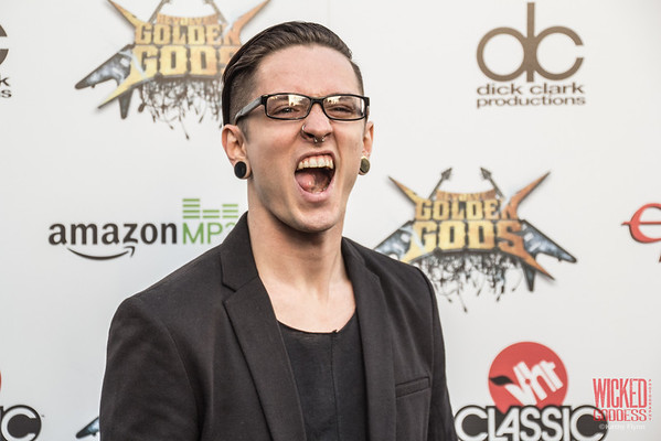 The Word Alive's Telle Smith  at the Revolver Golden Gods 2014