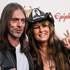 Rex Brown and Rita Haney at the Revolver Golden Gods 2014