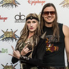 Huntress at the Revolver Golden Gods 2014