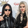 Ministry's Sin Quirin at the Revolver Golden Gods 2014