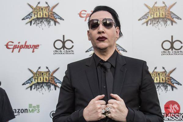 Marilyn Manson at the Revolver Golden Gods 2014