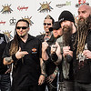 5 Finger Death Punch at the Revolver Golden Gods 2014
