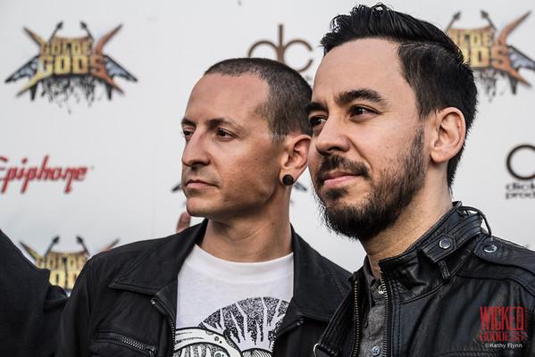 Linkin Park at the Revolver Golden Gods 2014