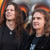 Megadeth's Chris Broderick and David Ellefson