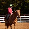 Hannah at riding lessons, Southlake, Texas (November 2010)