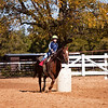 Elizabeth at riding lessons, Southlake, Texas (November 2010)