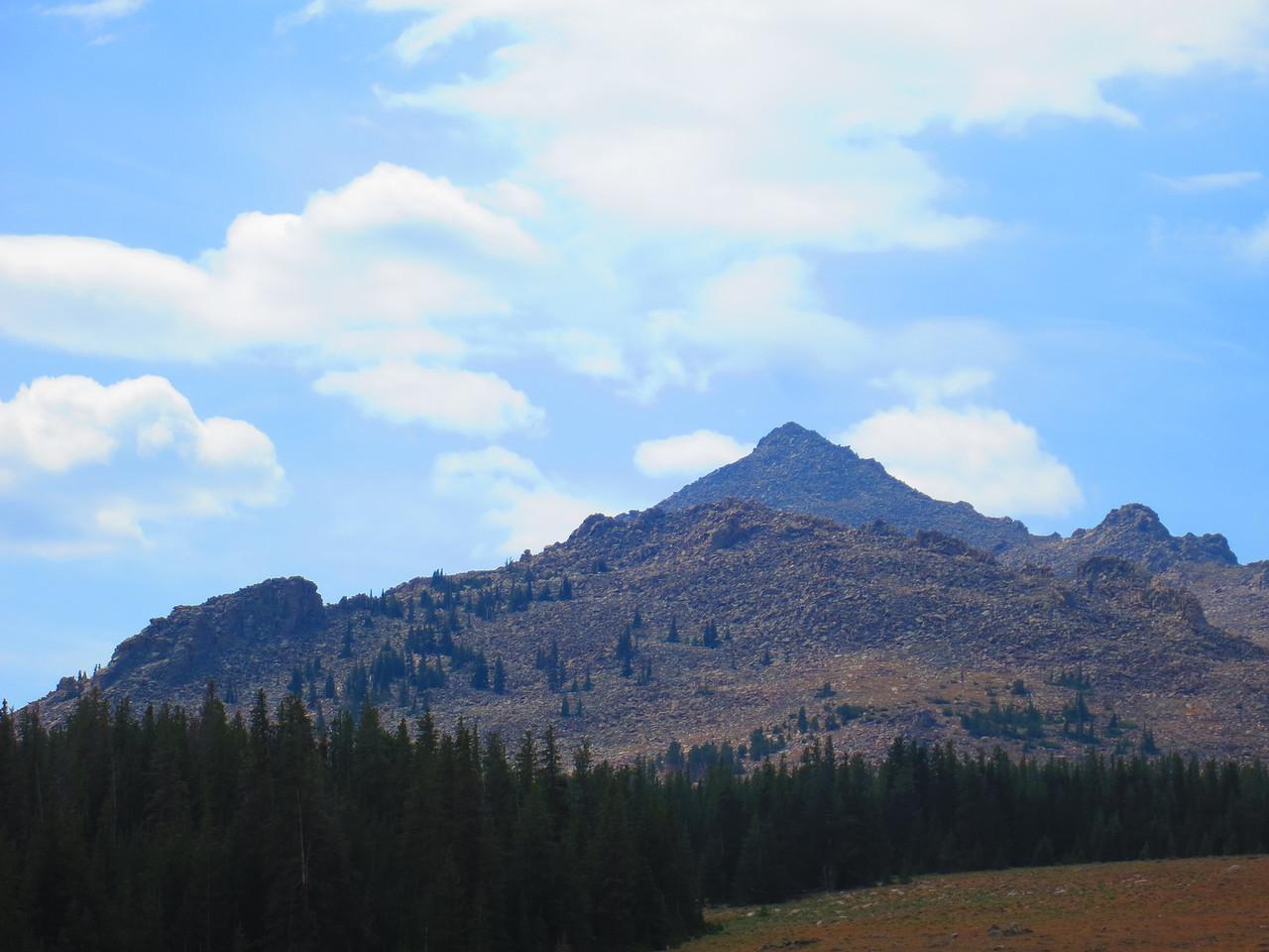 Telephoto of last shot - Torrey Peak, I believe.