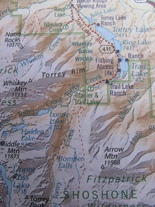 Adventuring abounds: hike up to Whiskey Mtn, to Louise Lake, to Bomber Falls or to Arrow Mtn.