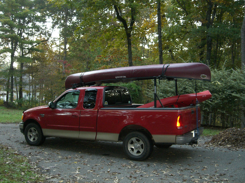 Boats are packed gear loaded  - ready to start the River's Alive clean up