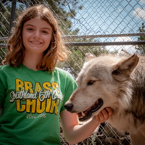 Wolves 08-07-18 with Family-06027