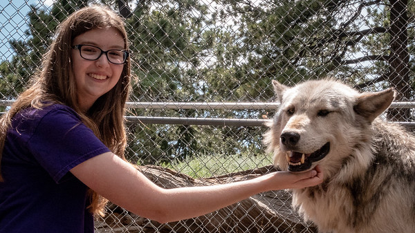 Wolves 08-07-18 with Family-06032