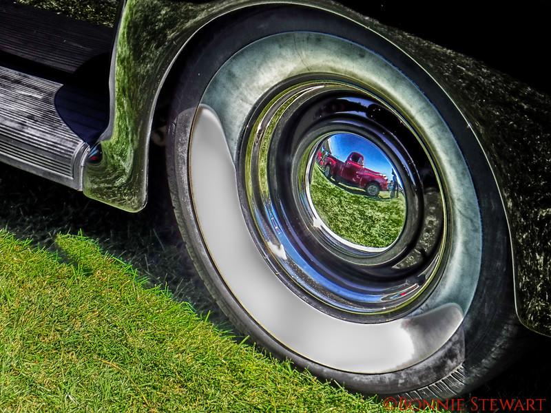 Old Car exhibit in Show Low