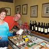 Choosing cheese at Assenti's