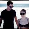 Jason and Erin at Sunset Cliffs