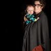 Cheryl holding baby Eli