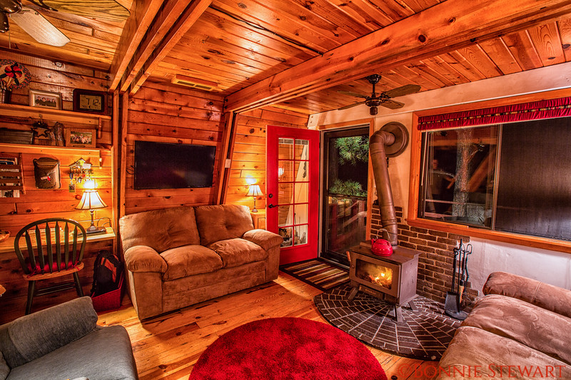 Main Room in the Enchanted Cabin