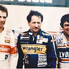 Fitchburg native Ron Bouchard is the owner of several local auto dealerships. Bouchard is a former NASCAR driver, who's career high was winning the Talladega 500 in 1981. Pictured with Bouchard are NASCAR drivers Darrell Waltrip (left) and Dale Earnhardt, Sr. (center). SENTINEL & ENTERPRISE / Ashley Green