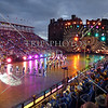 Performances at the Royal Edinburg Military Tattoo in Scotland.