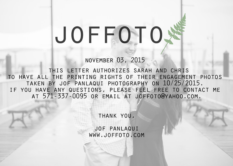 Joffoto Printing Rights