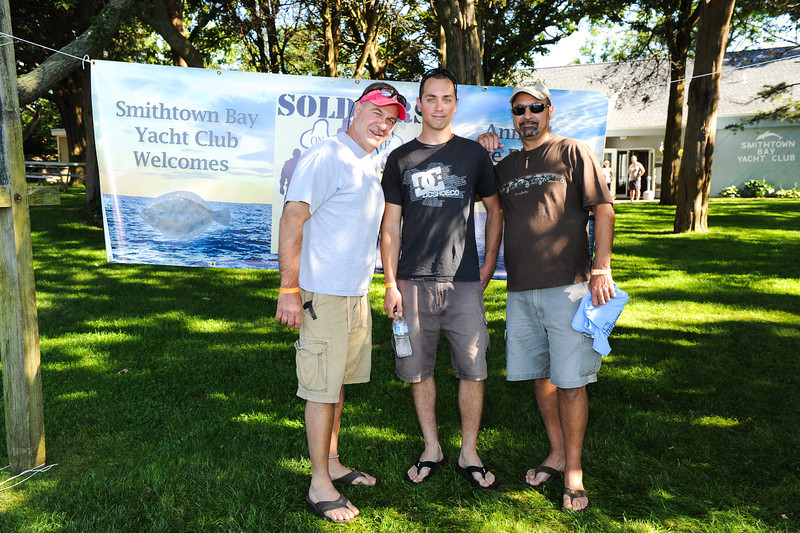 SMITHTOWN NEW YORK, JUNE 16TH: SMITHTOWN BAY YACHT CLUB HOSTS 4TH ANNUAL SOLDIERS ON THE SOUND FLUKE FISHING TOURNAMENT SATURDAY JUNE 16TH 2012 IN SMITHTOWN, NEW YORK ( Photos by Joseph Bellantoni / In House Image)